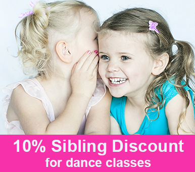 10% Sibling Discount